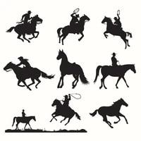 duofen metal cutting dies horse rider lace hollow diy scrapbook paper album 2019 new