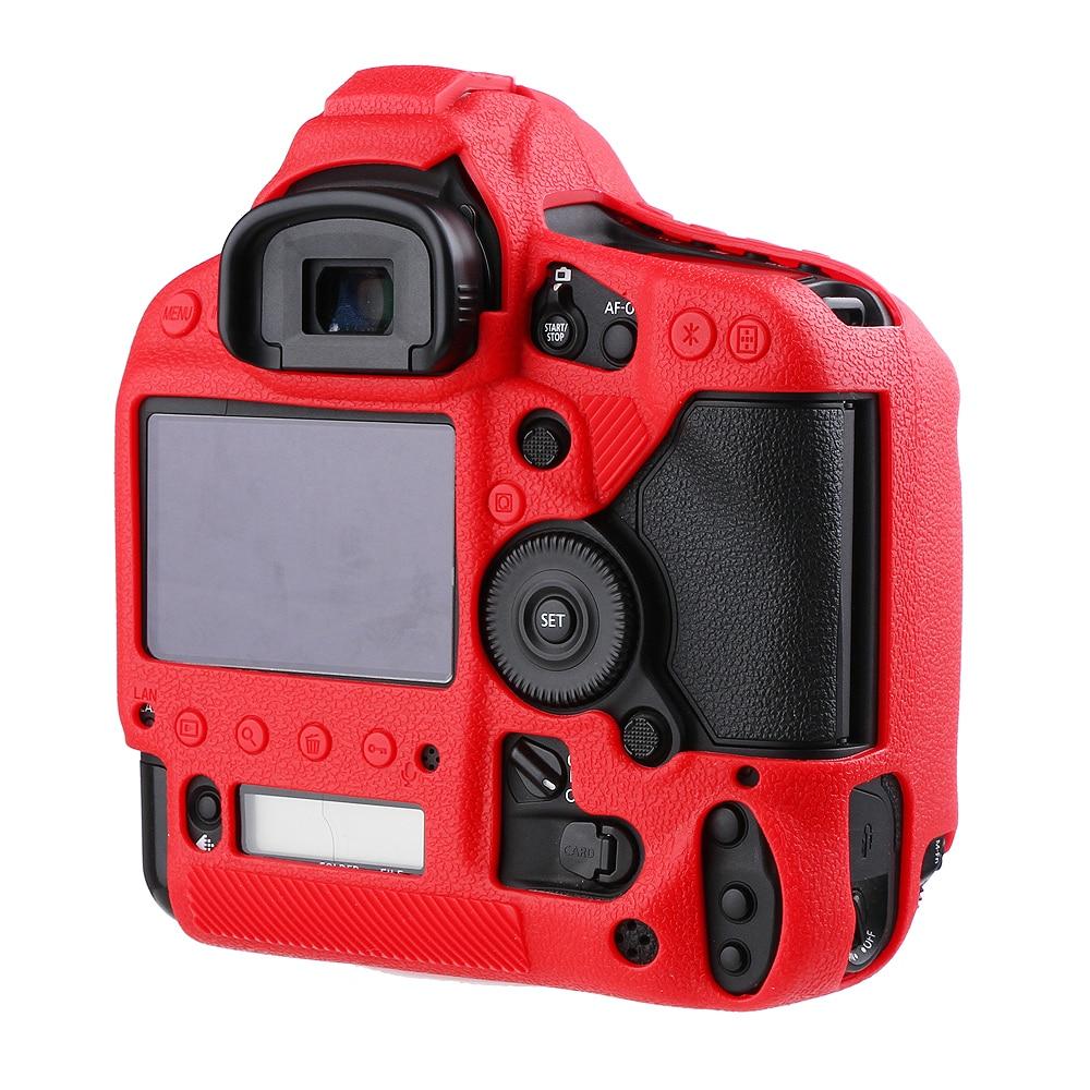 غطاء واقي للكاميرا من المطاط والسيليكون الناعم ، جراب واقٍ للكاميرا ، لكانون 1DX II 1DX Mark II III 1DX III