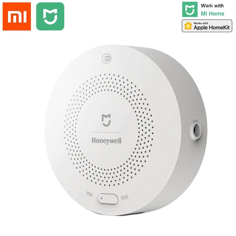 Xiaomi mijia honeywell inteligente detector de alarme gás ch4 monitoramento teto & montado na parede mihome app controle remoto
