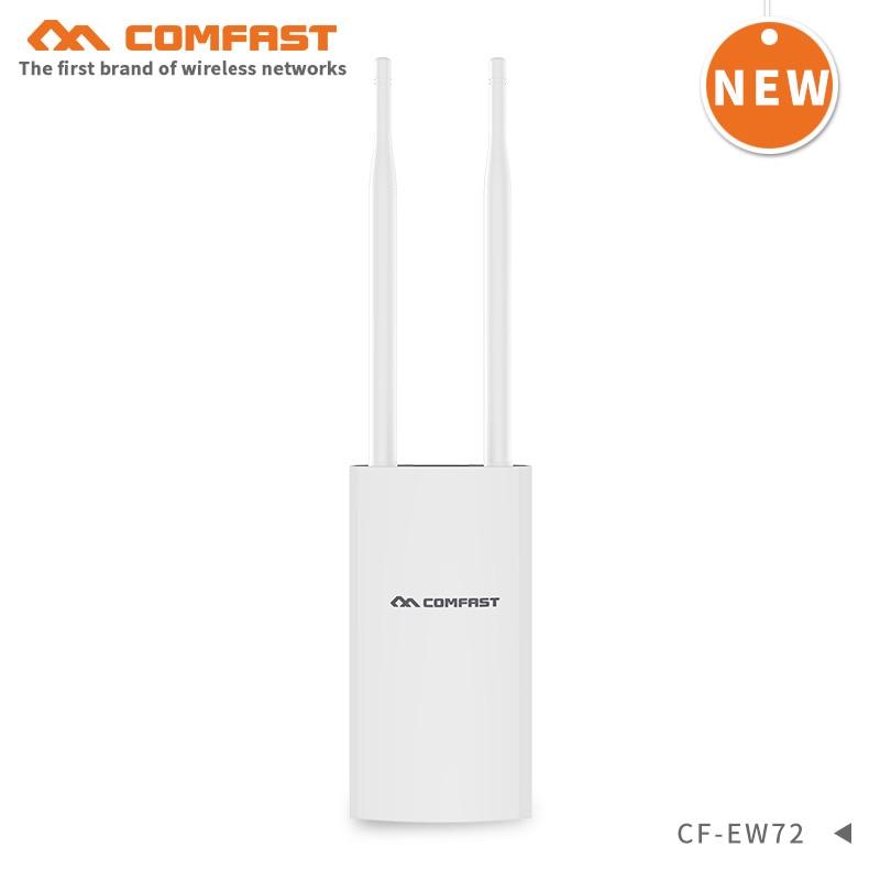 1200Mbps Gigabit PoE punto de acceso para exterior Router Wifi inalámbrico de alta potencia Wi-Fi extensor de rango amplificador 5,8 Ghz WIFI cobertura estación Base