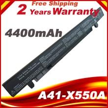 8 cellules 4400mAh Batterie pour ASUS A41-X550A A450 A41-X550 A550 F450 F550 F552 K550 P450 P550 R409 X450 X550 X550C X550A X550CA