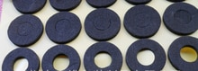1 joint de mousse adhésive EVA union 18650 17*10.5mm