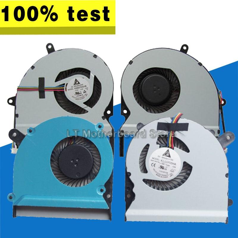 Para ASUS X401A F401A X501A X301A X301 X501 S300C S300CA S400C S400CA S500C S500CA portátil CPU VGA ventilador de refrigeración de disipador de calor del radiador