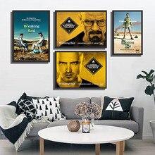 Autocollants muraux de séries TV pour salon   Affiche de peinture imprimée, décoration de maison, café Bar, décoration murale, vente en gros
