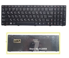 SSEA tout nouveau clavier dordinateur portable RU pour Lenovo G580 G585 G585A Z580 V580 V580C V580A Z580A G580AH G580G clavier russe noir