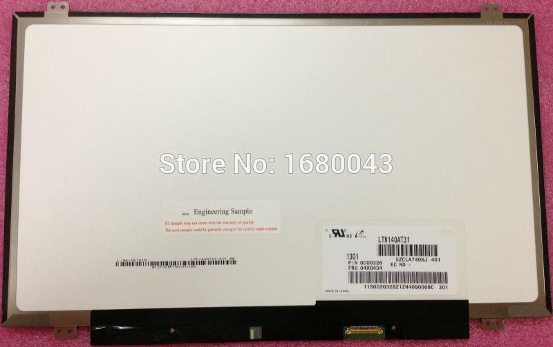 LTN140AT31 صالح HB140WX1-301 401 501 601 B140XTN03.2 b140xtnxr9 LP140WH2/WH8-TPS1 TPA1 TPD1 eDP 30 دبوس شاشة LCD LED الشاشة