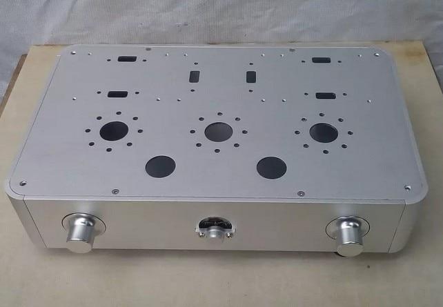 RCKJ New Amp case tube amplifier Enclosure chassis aluminum chassis diy tube amplifier chassis