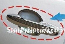 Higher star ABS chrome 8pcs car Door Handle Cover+4pcs Handle Bowl For HONDA CITY 2009-2014