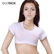 Femmes hauts courts manches courtes hauts Sexy haut court base t-shirts mode mince marque ajustement débardeurs Corset Clubwear Blusa 2462
