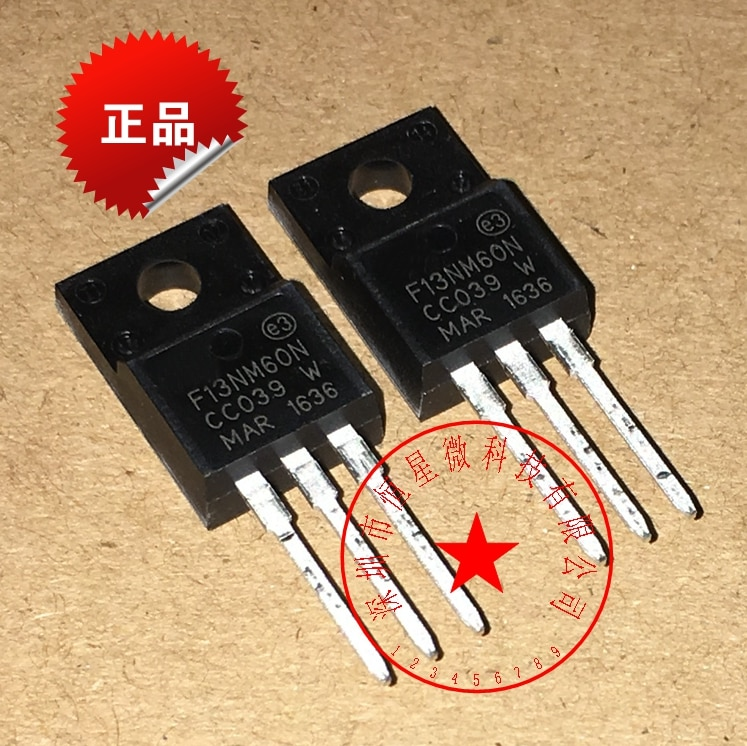 10 шт. Бесплатная доставка STF13NM60N 13NM60N 13NM60 MOSFET N-CH 600V 13A TO-220F