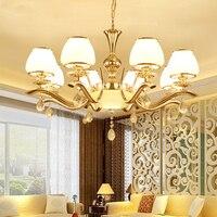 Modern glass Chandelier Lighting for Dining Room Bedroom Living Room Kitchen