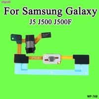 cltgxdd home button sensor keypad for samsung galaxy j5 j500 j500f audio jack headphone connector flex cable ribbon