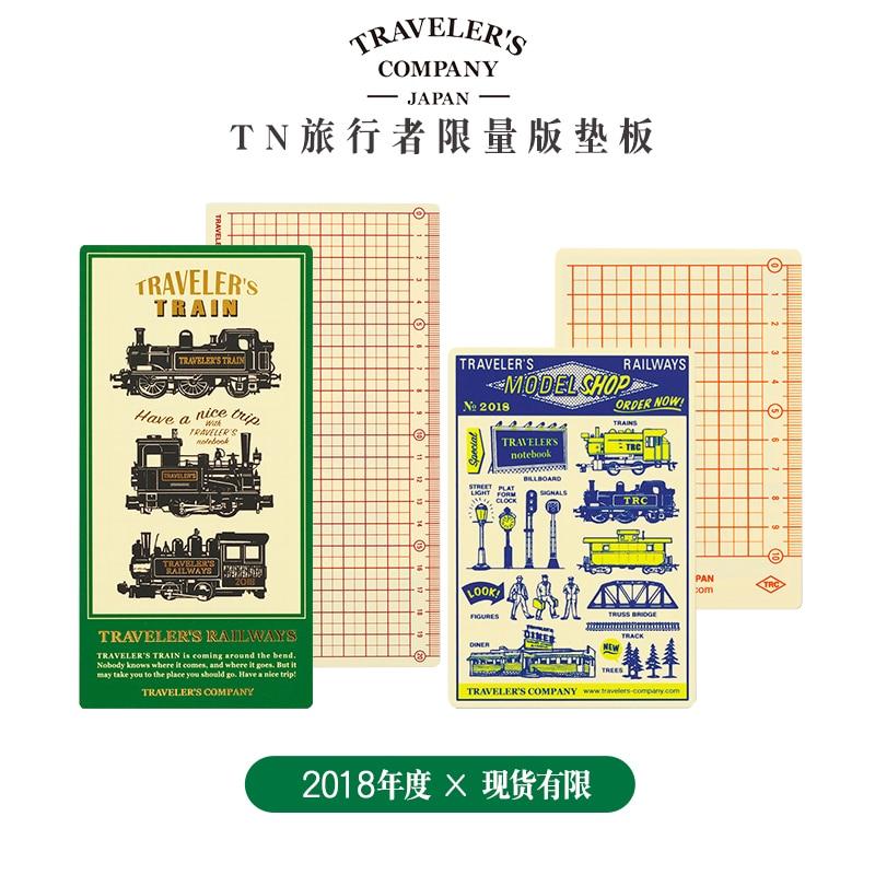 2018 Midori Reiziger S Journal Notebook Traveler S Accessoires Sticker Pad Insert Inner Core Binnenpagina Plaat Gemaakt In Japan