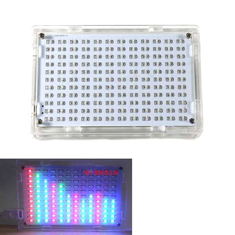 LED Display Music Spectrum Analyzer Amplifier Hifi MP3 PC Audio Level Meter Kits