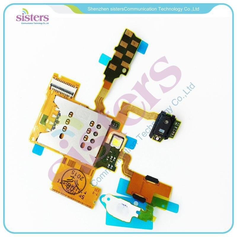 50 pcs sim card reader flex ribbon cable soquete do flash inducao cabo flex para