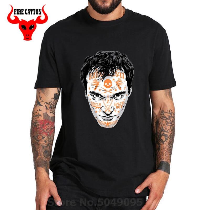 Quentin Tarantino tatuaje Pulp Fiction camiseta djego Unchained Reservoir dogsjacky marrón a prueba de muerte Inglourious Basterds camisa