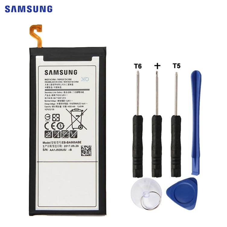 SAMSUNG-EB-BA900ABE de batería de repuesto Original para móvil, edición 2016, Samsung Galaxy A9 A9000 SM-A9000, batería de 4000mAh