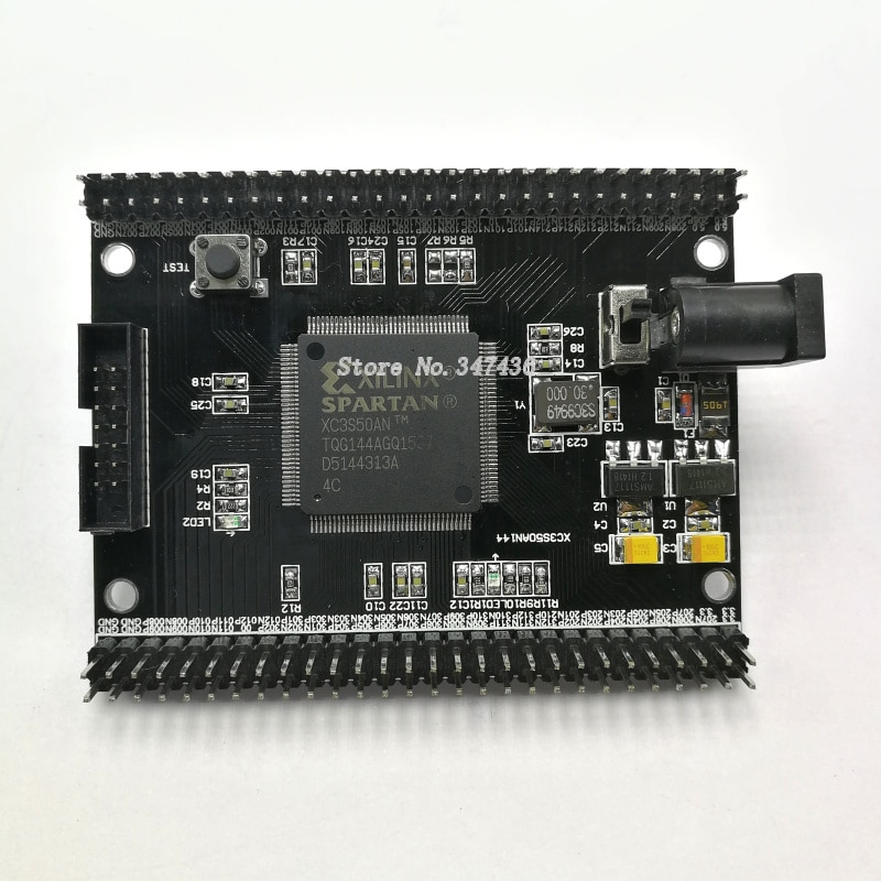 Xilinx FPGA development board, Spartan3 XC3S50AN development board, core board, minimum system board