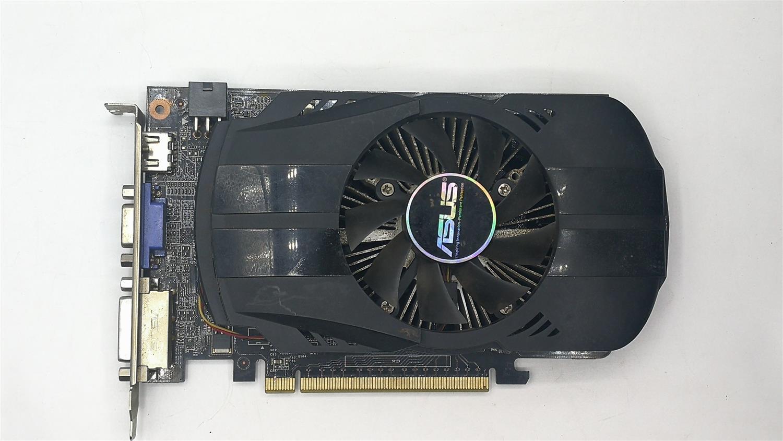 تستخدم ، 2 قطعة/الوحدة ASUS GTX 650 بطاقة الرسومات GPU 1GB GDDR5 128BIT VGA بطاقة ل نفيديا PC الألعاب أقوى من GT630 ، GT730