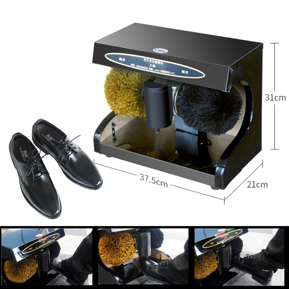 Automatic shoe polishing equipment Hotel home Shoes polish machine Shoe polisher Leather shoe cleaning machine
