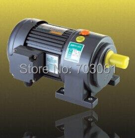 تروس المحرك 1500 واط ، 220 فولت ، 3 مراحل ، 32 مللي متر ، 50 مللي متر ، محرك تروس التيار المتردد الصغير ، نسبة علبة التروس 6 ، 30:1