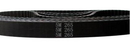 HTD5M-265 عرض 10 ملليمتر طول 265 ملليمتر HTD5M 265 المطاط توقيت حزام ناقل التروس