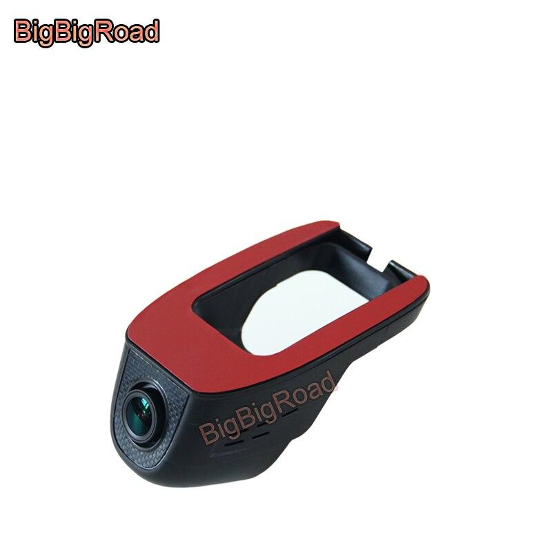 BigBigRoad Car wifi DVR Video Recorder For Hyundai Elantra Mistra Celesta Santa fe Tucson Reina Sonata IX25 IX35 Verna RV Accent