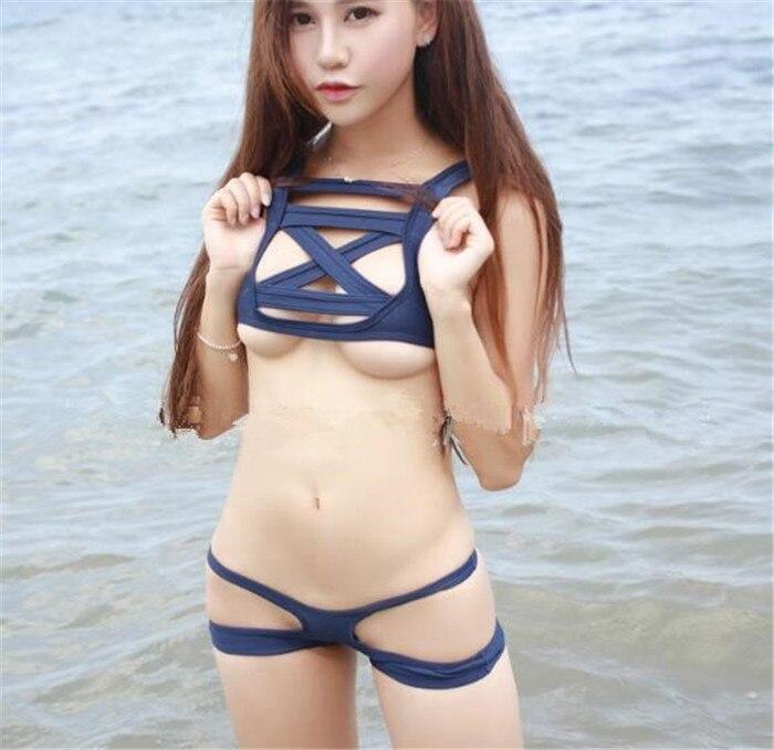 La esclavitud Janpanse bikini traje de baño de los estudiantes cosplay sexy dama uniforme ropa sukumizu traje kawaii Su ku agua cosplay A342