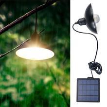 Luz Solar de jardín, luz de calle retro, luz colgante con energía Solar, lámpara colgante Solar impermeable para café al aire libre con Panel