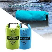 Hitorrandonnée sac étanche 2L sac de voyage léger sac sec pochette Camping canotage Kayak Rafting canoë sac de natation sac gonflable