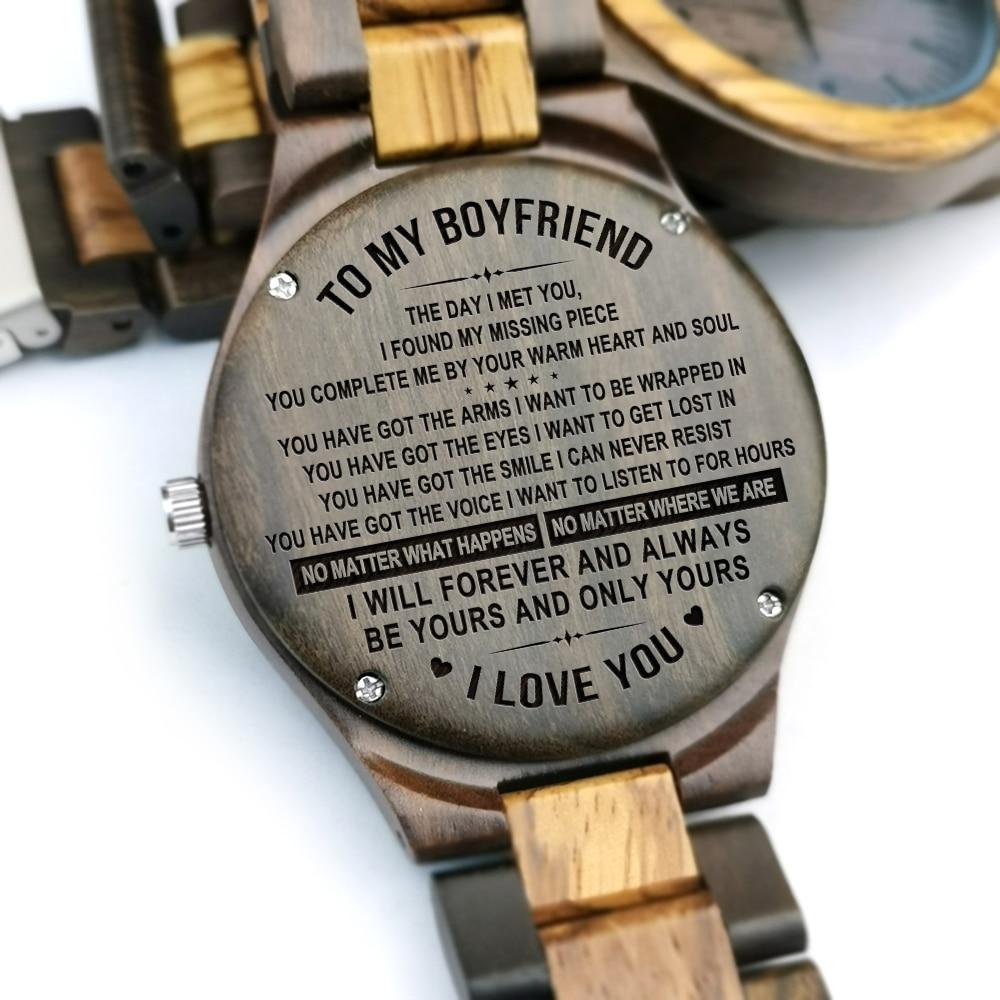 Для моего парня-деревянные часы, мужские роскошные стильные деревянные часы, хронограф, военные кварцевые часы, подарки на день рождения, го...