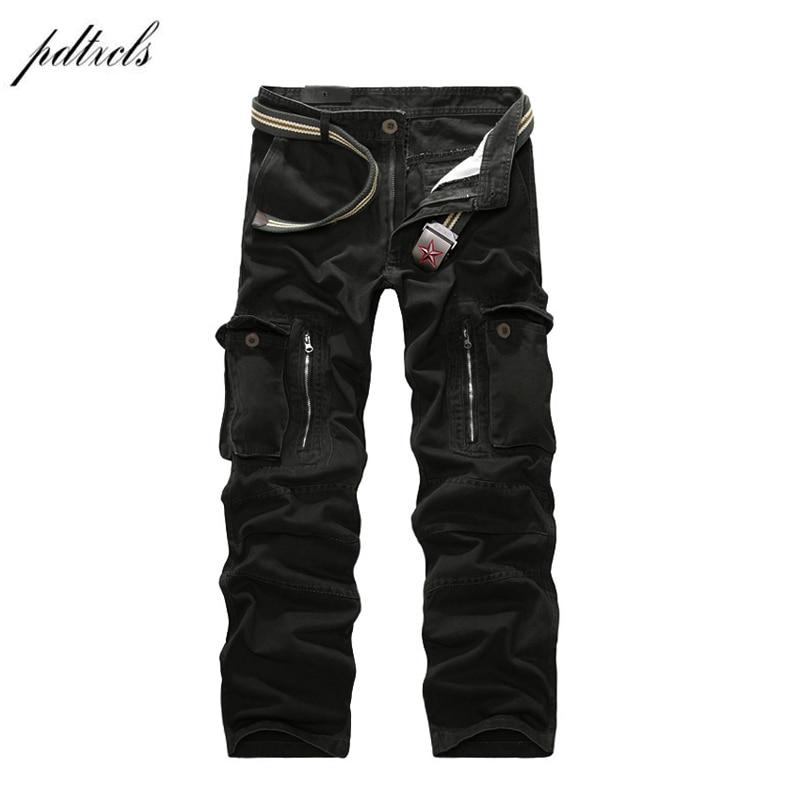 49 2018 хорошее качество военные брюки карго мужские горячие камуфляжные мужские хлопковые брюки мужские брюки 7 цветов
