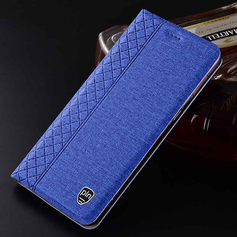 Чехол для LG G6 G7 G8s G8 ThinQ клетчатый стиль холщовый узор кожаный флип-чехол для V30 V35 V40 V50 ThinQ Q60 Q50 K50 K40 чехлы