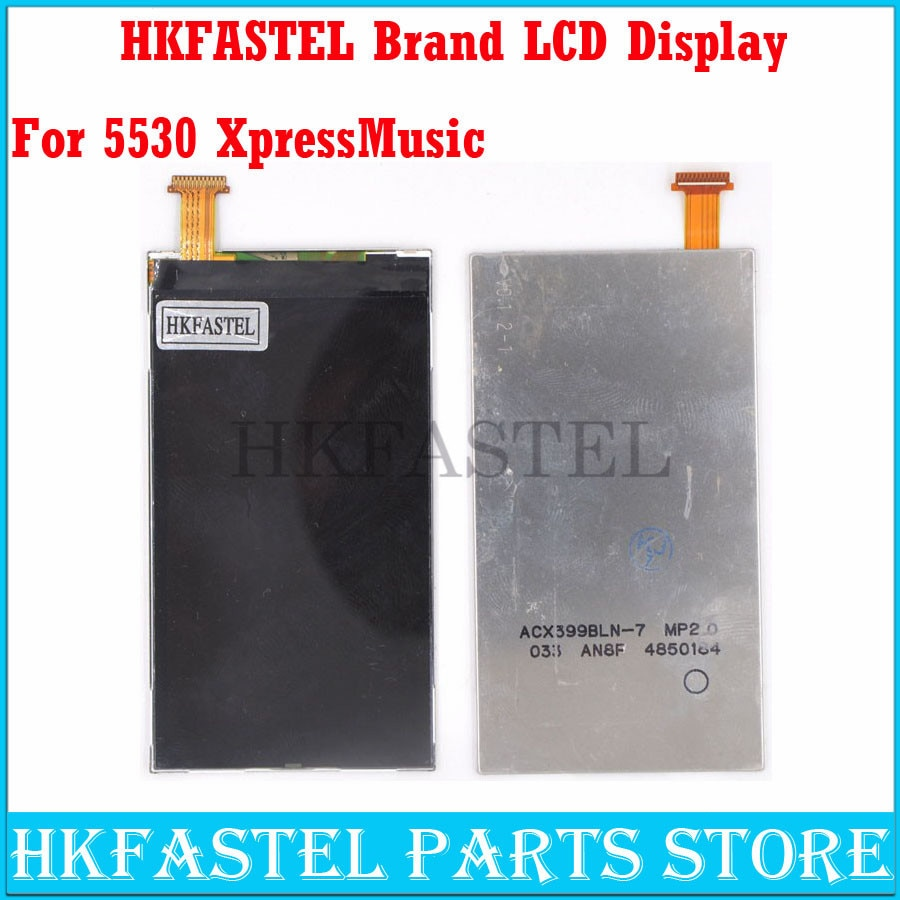 HKFASTEL teléfono móvil Original para Nokia 5530 xpressmic teléfono móvil LCD pantalla digitalizador + herramientas gratis