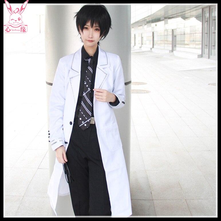 Nuevo juego Anime lyzzr cosplay XU MO Harajuku japonés rompevientos diario uniformes hombres y mujeres disfraces cosplay