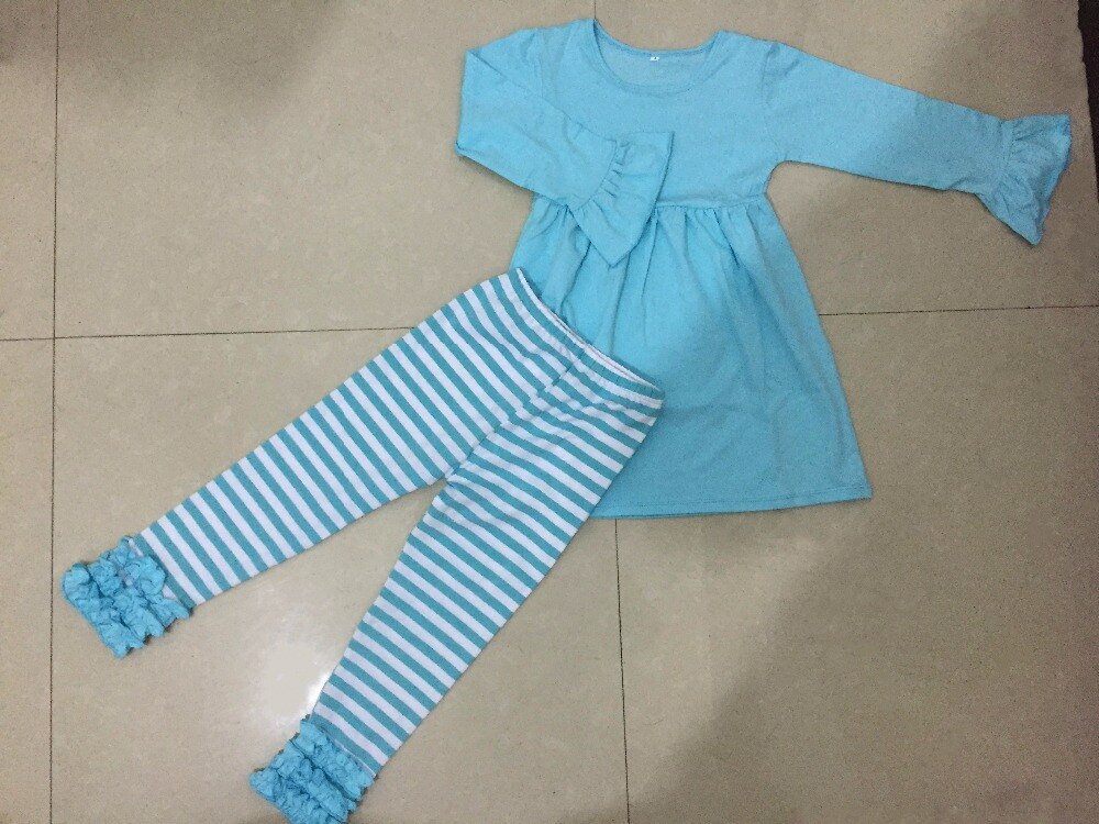 WENDONG بالجملة-بيجامات خريفي للبنات ، ملابس نوم قطنية غير رسمية ، طقم ملابس أطفال ، 2 قطعة