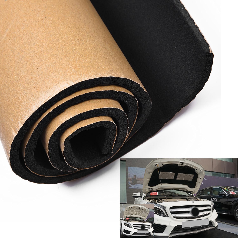 30*50 см звукоизоляция автомобиля Deadener самоклеющиеся пены изолятор хлопок 2kpa Авто изоляция теплоизоляционные коврики колодки