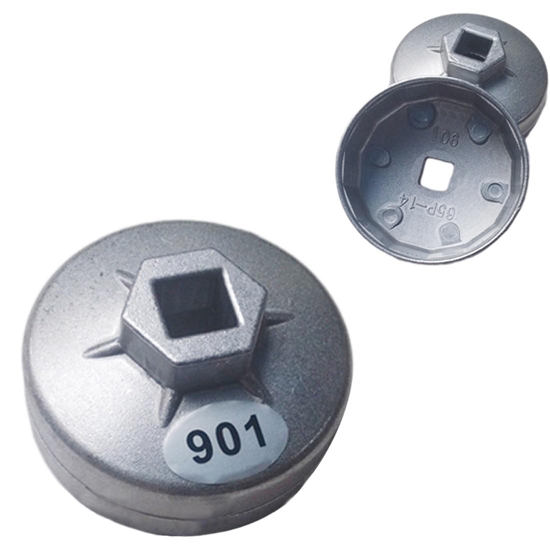 "901 Cap Oliefiltersleutel 1/2 ""Vierkante Drive Olie Filter Removel Gereedschap Filter Dopsleutel Spanner Handje"