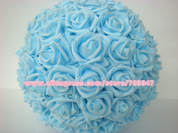 New Arrival!!! 8pcs X Fabulous Foam Rose ball Kissing Ball Pomander Wedding decoration *Free Shipping VIA EMS*