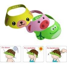 Chapeau ajustable pour nouveau-né   Shampooing pour enfants en bas âge, bonnet de douche, bouclier de lavage des cheveux, bouchons de visière directe pour enfants, soins pour bébé