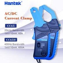 Hantek AC/DC Current Clamp for oscilloscope CC-65 CC-650 20KHz/400Hz Bandwidth 1mV/10mA 65A/650A with BNC plug
