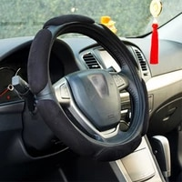 car steering wheel cover anti slip durable artificial leather car covers auto decoration interior accessories