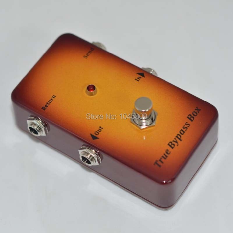 Pedal de efecto de interruptor Looper Loop/Pedal de guitarra True Bypass Loop para guitarra eléctrica