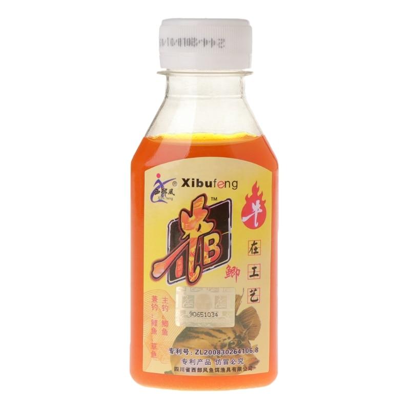 Nueva botella de 90ml de cebo Artificial de pesca, cebo líquido con aroma a carpa aditivo
