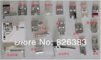 free shipping 1set 18 pieces original quality household sewing machine presser feet for brother janome toyota singer