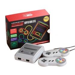 Мини-игровая консоль встроенный 621 Ретро игры Поддержка HDMI Out SNES игровой плеер двойной ручной ТВ игровая консоль лучший подарок