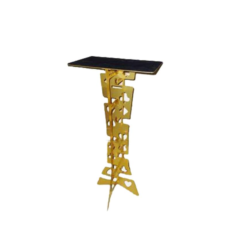 Hot sale magic high quality aluminium alloy folding table magic table magic prop