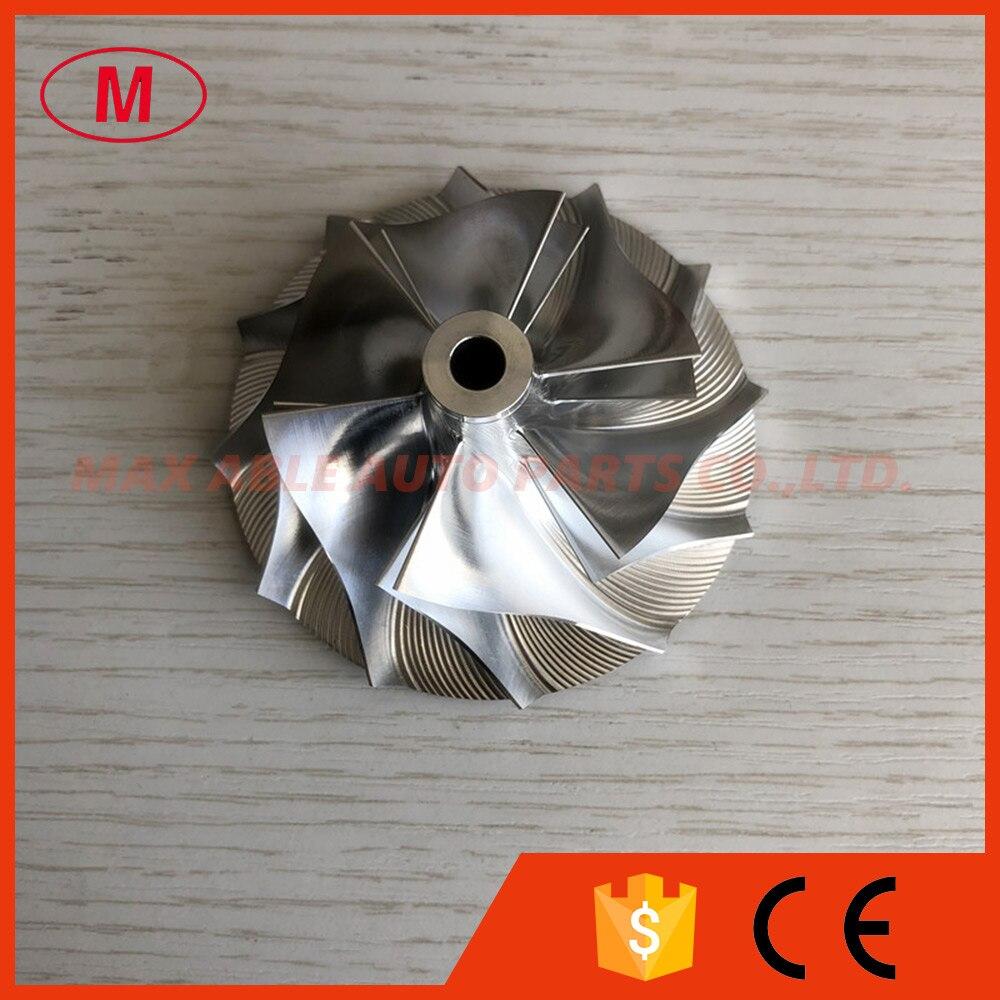 GT2871  6+6 blades  452546-0003B 51.17/70.98mm high performance milling/aluminum 2618/Billet compressor wheel for racing