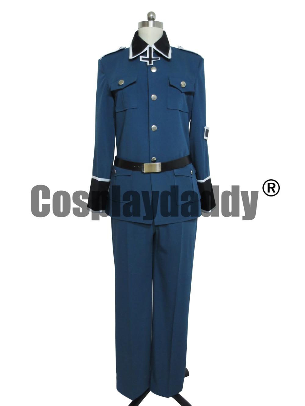 Axis Powers Hetalia Alemanha Cosplay Uniforme Outfit