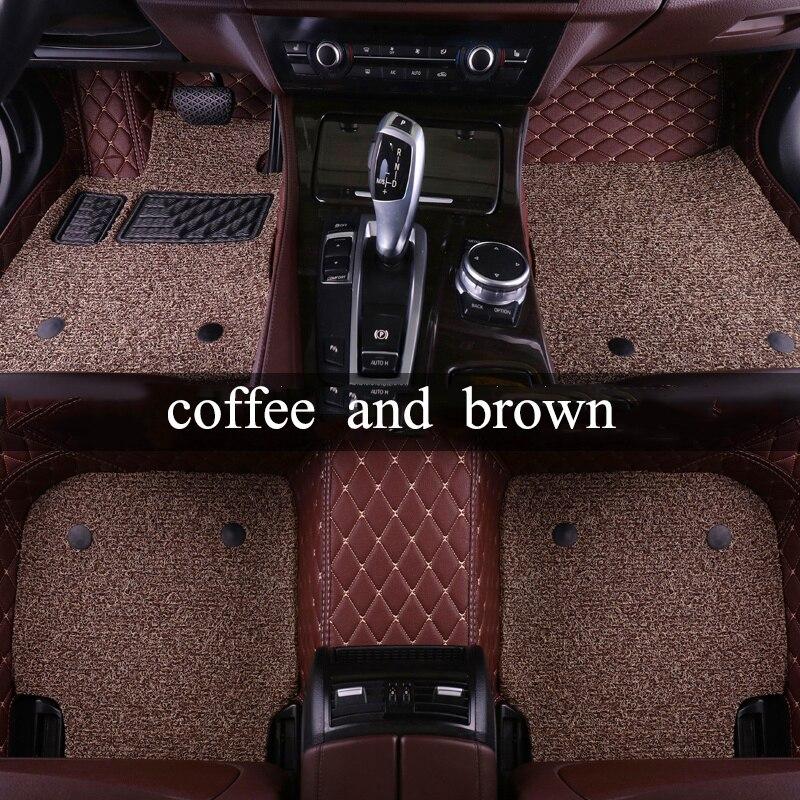 Kalaisike пользовательские автомобильные коврики для Lifan все модели 320 520 X60 X50 620 720 820 X80 Авто Стайлинг автомобильные аксессуары